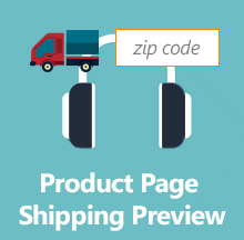 Product Shipping Preview